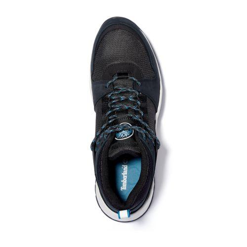 Men's Solar Wave Mixed-Media Sneakers-