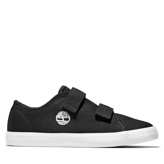 Youth Newport Bay 2-Strap Canvas Sneakers