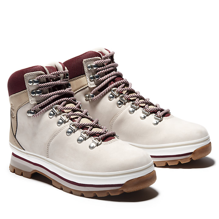 Women's Mixed-Media Waterproof Euro Hiker Boots-
