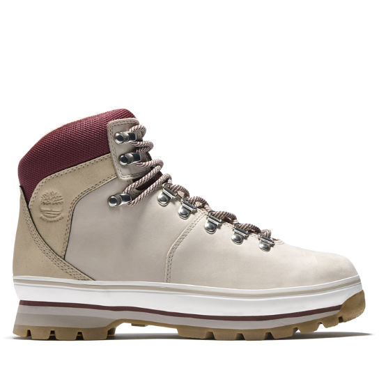 Women's Mixed-Media Waterproof Euro Hiker Boots