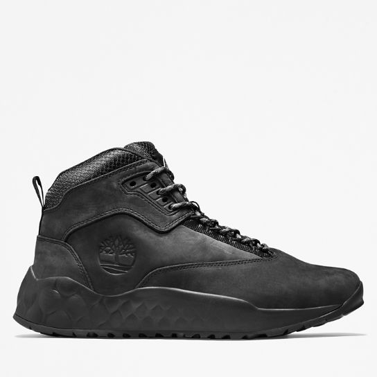 Men's Solar Wave Leather Sneaker Boots