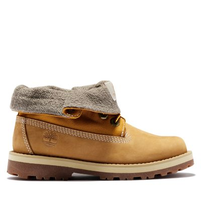 Junior Courma Kid Roll-Top Boots