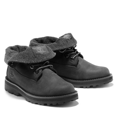 Junior Courma Kid Roll-Top Boots-