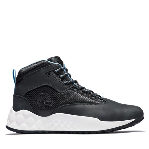 Men's Solar Wave Mixed-Media Sneaker Boots-