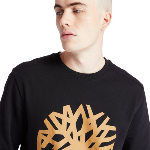 Men's Timberland Tree Logo Crewneck Sweatshirt-