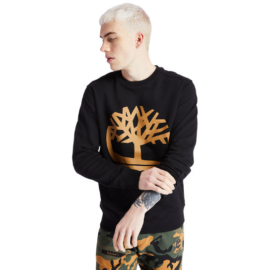 Men's Timberland Tree Logo Crewneck Sweatshirt