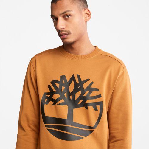 Men's Timberland Tree Logo Crewneck Sweatshirt-