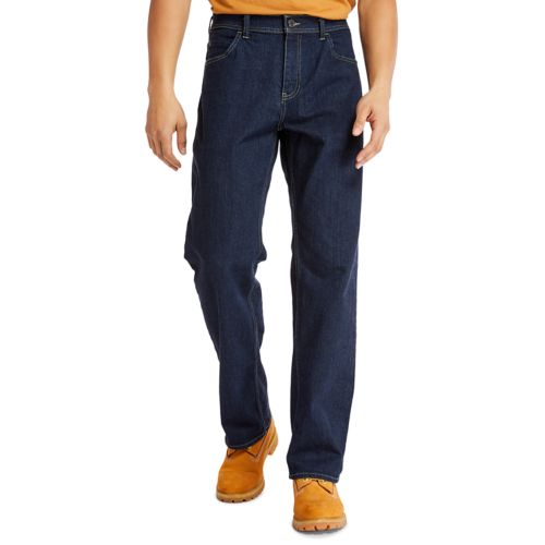 Men's Relaxed Fit Denim Jeans-