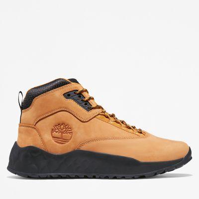 Men's Solar Wave Leather Sneaker Boots