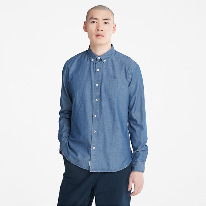 Men's Mumford River Slim-Fit Chambray Shirt-
