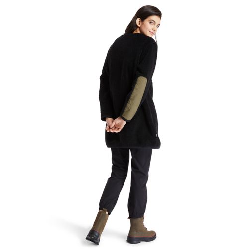 Women's Long Fleece Jacket-