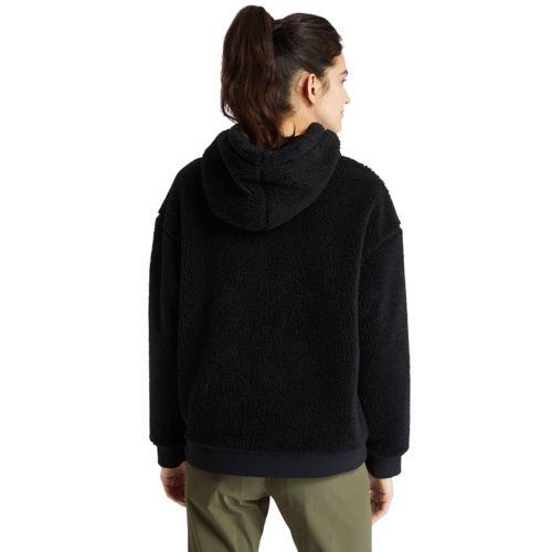 Women's Recycled-Fleece Hoodie-