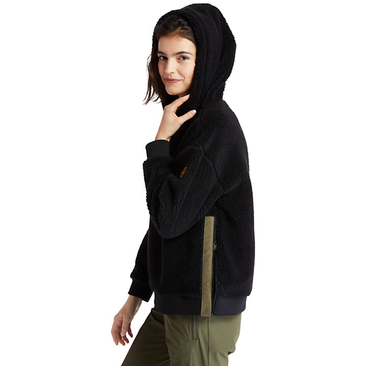 Women's Recycled-Fleece Hoodie-