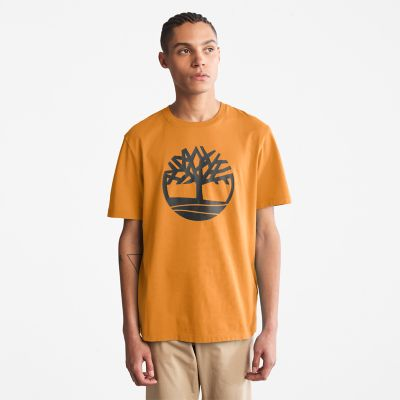 Men's Kennebec River Tree-Logo Tee