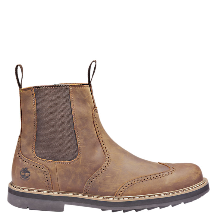 Men's Squall Canyon Waterproof Wingtip Chelsea Boots-