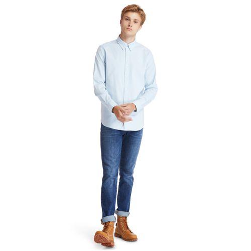 Men's Pleasant River Stretch Oxford Shirt-