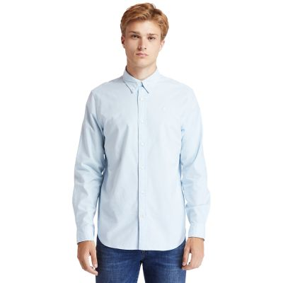 Men's Pleasant River Stretch Oxford Shirt
