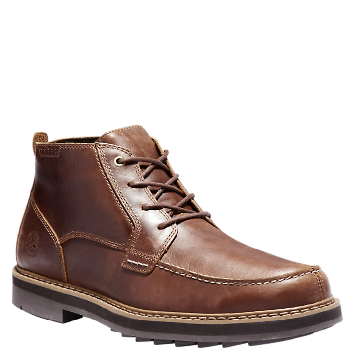 Men's Squall Canyon Waterproof Moc-Toe Chukka Boots-