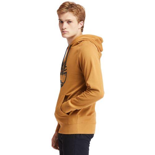 Men's Timberland® Heritage  Logo Hoodie Sweatshirt-