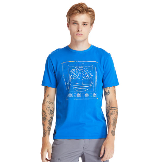 Men's Kennebec River Puff-Effect Logo T-Shirt