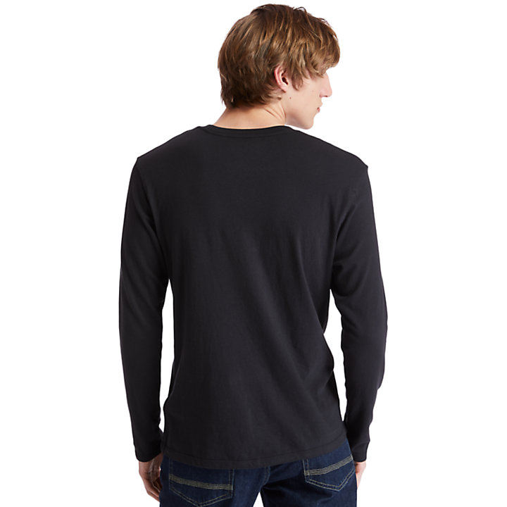 Men's Long-Sleeve Classic Logo T-Shirt-