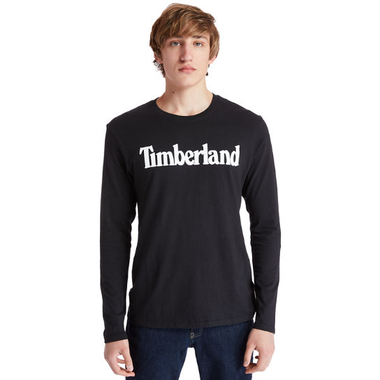 Men's Long-Sleeve Classic Logo T-Shirt