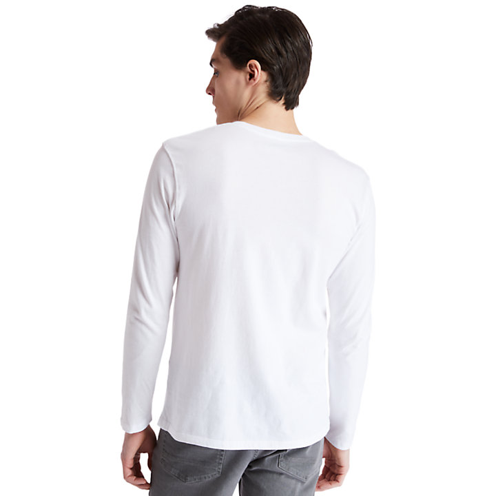 Men's Long-Sleeve Classic Logo T-Shirt-