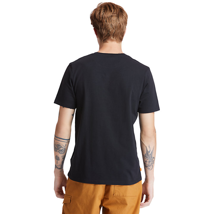 Men's Kennebec River Camo-Logo T-Shirt-