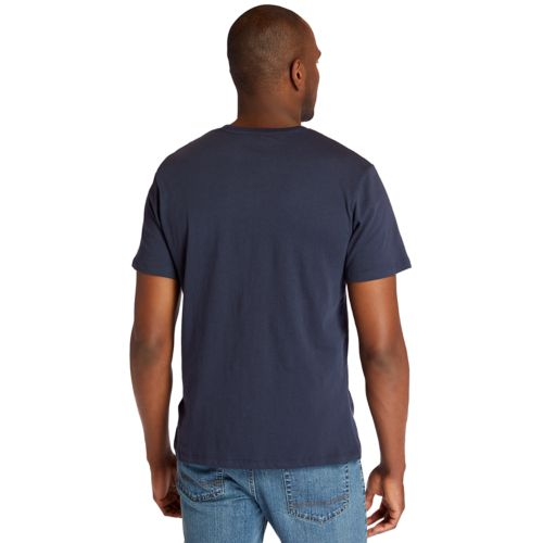 Men's Embroidered Logo T-Shirt-