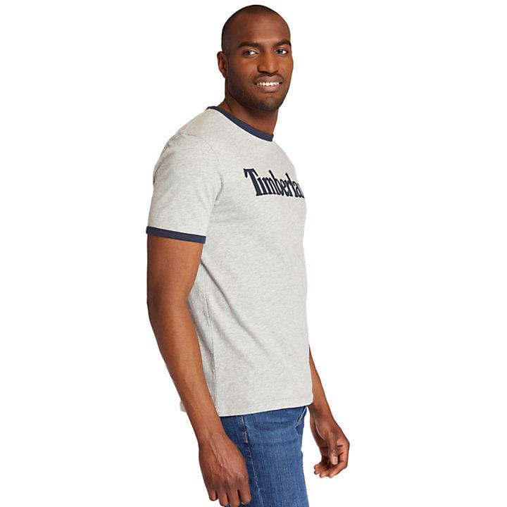 Men's TBL® Linear Logo Ringer T-Shirt-