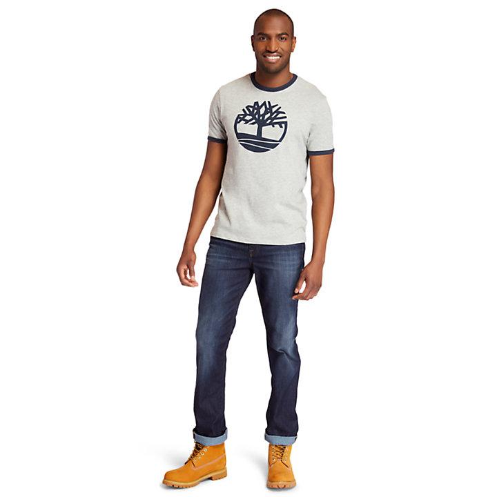 Men's Tree Logo Ringer T-Shirt-