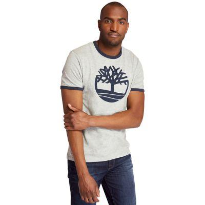 Men's Tree Logo Ringer T-Shirt