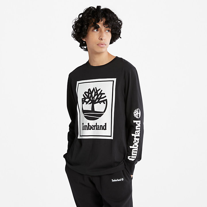 Men's Long-Sleeve Logo T-Shirt-