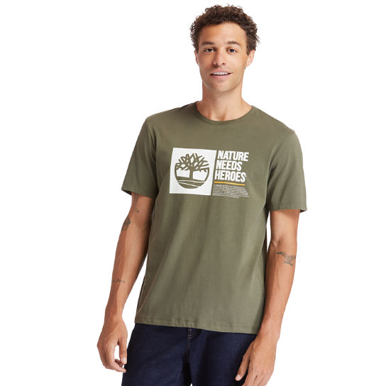 Men's Timberland® Heritage Short-Sleeve Graphic Tee