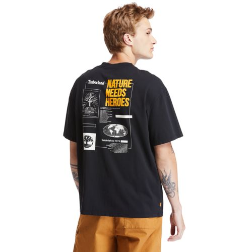 Men's Timberland® Heritage Short-Sleeve Back-Print Graphic Tee-