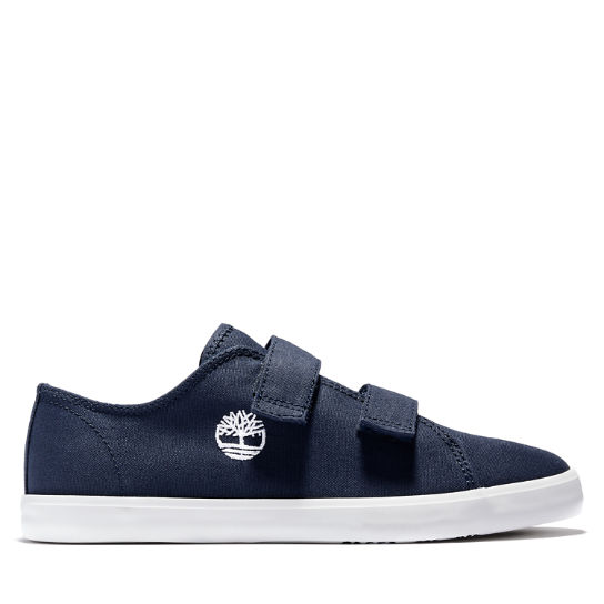 Junior Newport Bay 2-Strap Canvas Sneakers