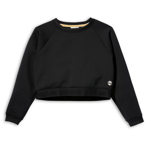 Women's Spacer Knit Cropped Sweatshirt-