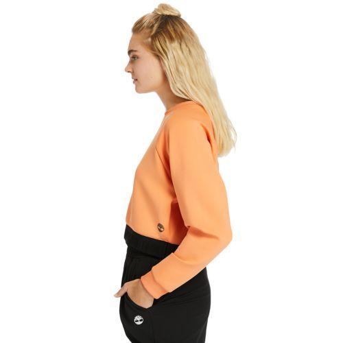 Women's Spacer Knit Cropped Sweatshirt-