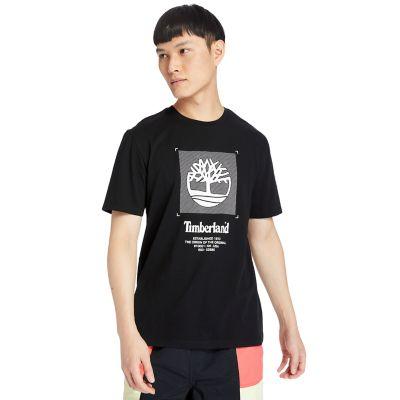 Men's Front-Graphic Box-Cut Tee