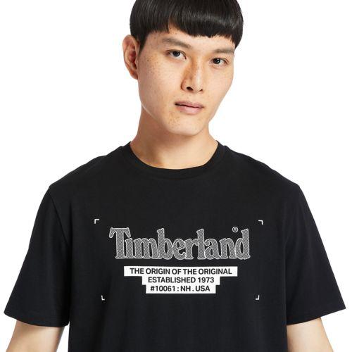 Men's Linear-Logo Tee-