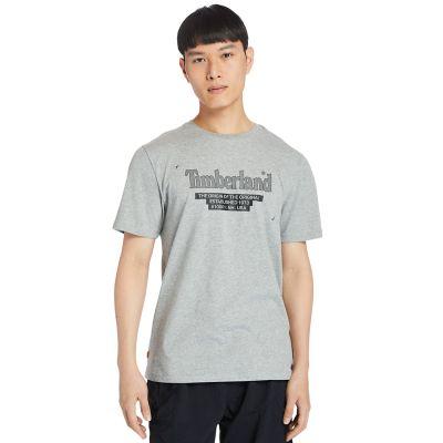 Men's Linear-Logo Tee