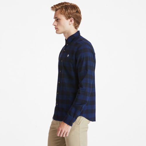 Men's Mascoma River Slim-Fit Long-Sleeve Check Shirt-