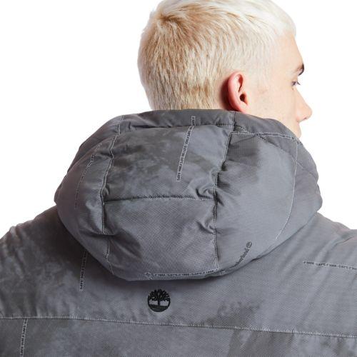 Men's Reflective Puffer Jacket-