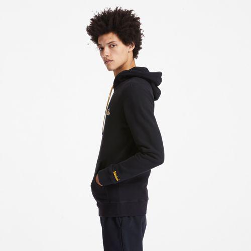 Men's Boot-Logo Hoodie Sweatshirt-