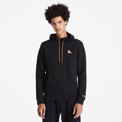 Men's Boot-Logo Hoodie Sweatshirt