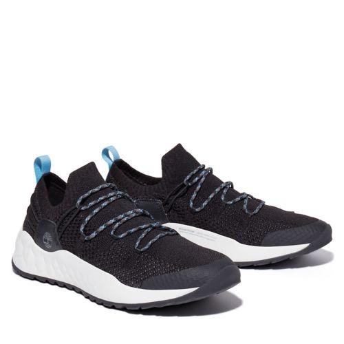 Men's Solar Wave Knit Sneakers-
