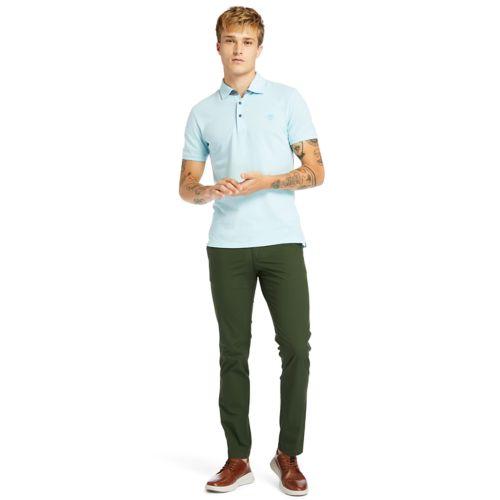 Men's Baboosic Brook Slim-Fit Oxford Polo-