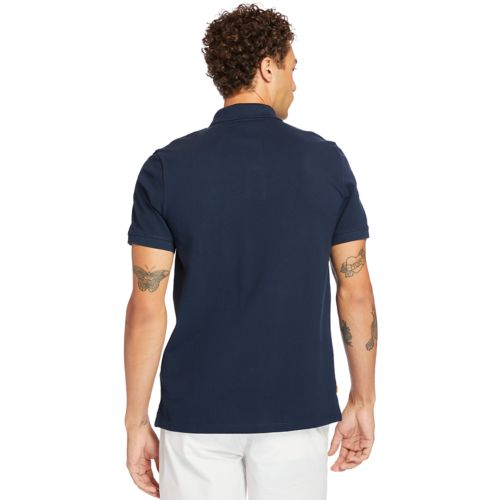 Men's Millers River Striped Polo-