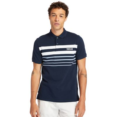 Men's Millers River Striped Polo