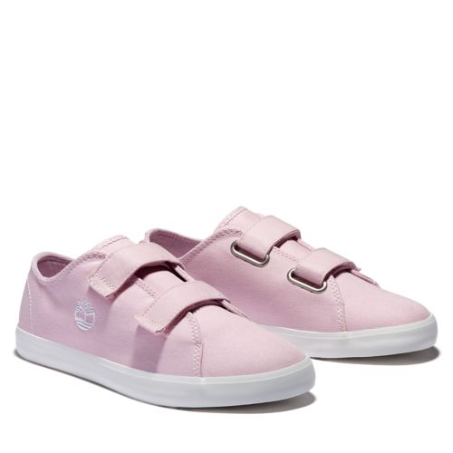 Junior Newport Bay 2-Strap Canvas Sneakers-